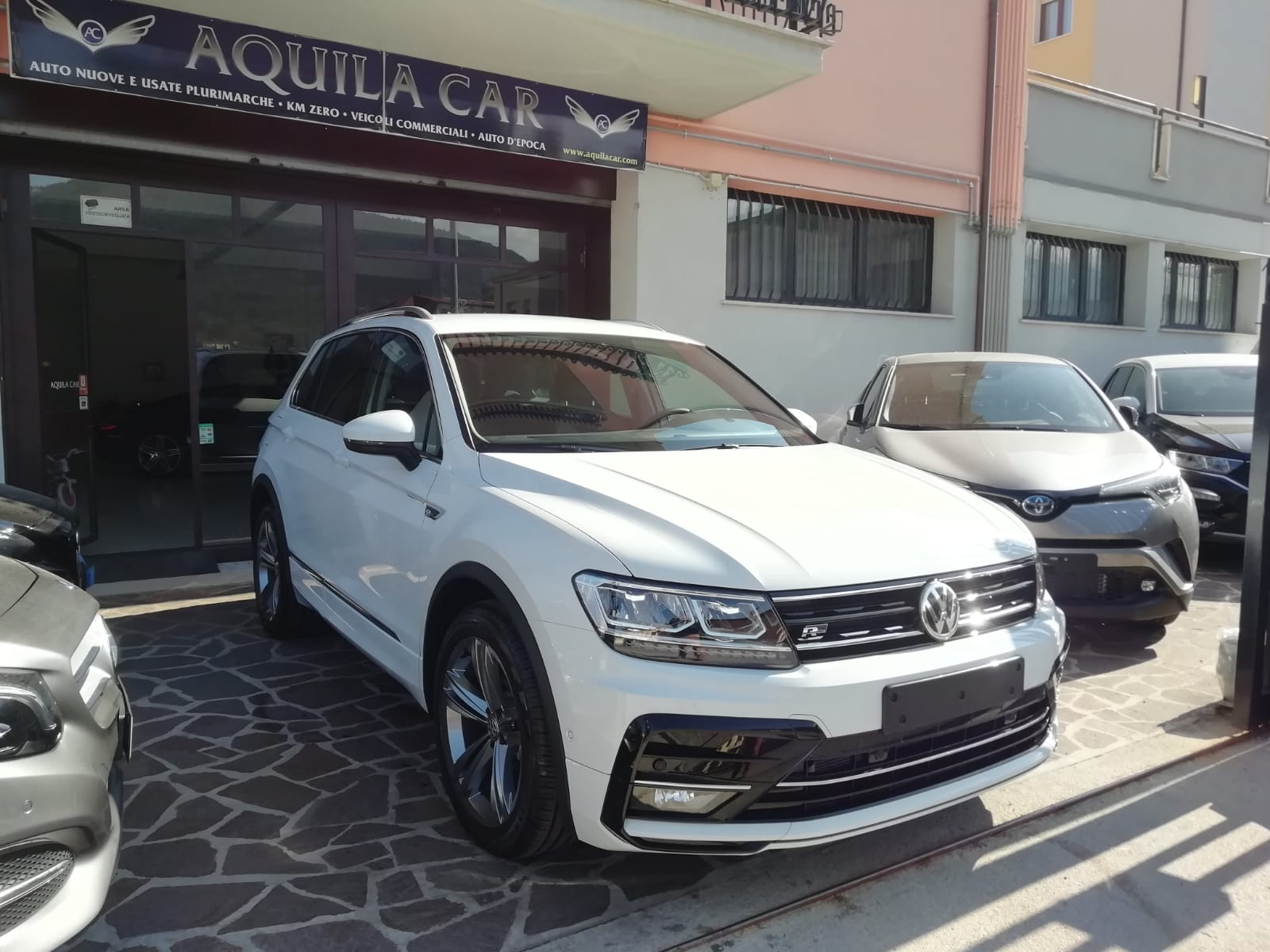 Volkswagen TIGUAN R-Line 1.6 TDI 116 cv