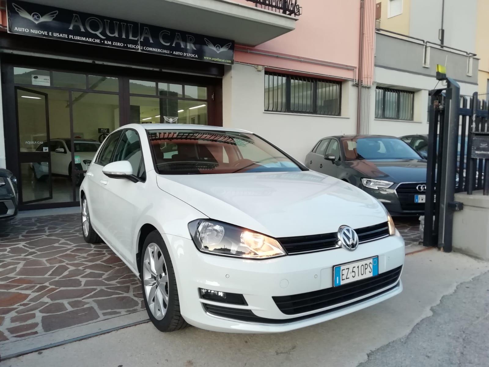 Volkswagen Golf VII 1.6 TDI 110 cv Highline